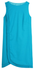 Azzaro turquoise sheath dress1 Ask Anna   Your What to Wear Crises Solved!