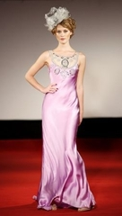 Ruth Tarvydas Iris dress1 Pink Hire Prom Dresses   Colour Moment