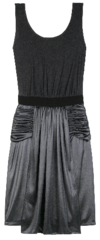 Alexander Wang ruffled skirt dress Sleek Chic: Rent Alexander Wang Dresses