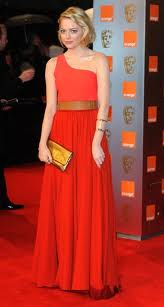 Emma Stone in Lanvin Best Dress: Rent BAFTA Ball Gowns