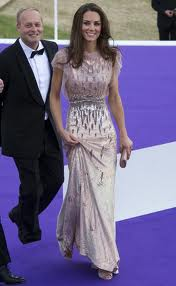 Kate Middleton Jenny Packham dress A Designer Ball Dress for the Duchess!
