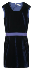 Richard Nicoll belted velvet dress What to Wear to a Polo Match: Be the Model Dressed Spectator