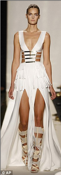 Herve Leger Fashion Week1 Herve Leger by Max Azaria at New York Fashion Week
