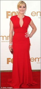 Kate Winslet1 138x300 The Week in Dresses: Ladies in Red Dresses Glam Up the Red Carpet