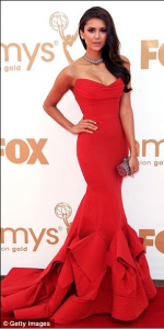 Nina Dobrev1 150x300 The Week in Dresses: Ladies in Red Dresses Glam Up the Red Carpet