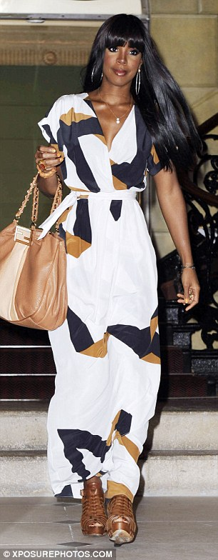Kelly Rowland Dresses Girl Meets Dress