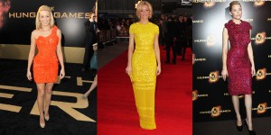EL 300x150 The week in dresses: Hunger Games special