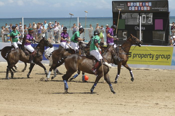 Polo3 Win 2 tickets to the British Beach Polo Championships 2012