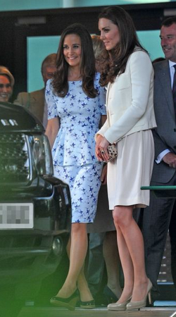 Project D Phoebe Dress 3 Pippa Middleton rocks the Phoebe peplum dress by Project D