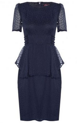 Project D Phoebe Dress 4 Pippa Middleton rocks the Phoebe peplum dress by Project D