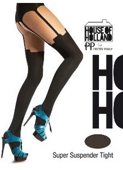 Henry Holland Super Suspender Tights