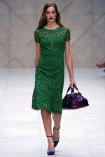 Colour Burberry1 London Fashion Week SS13: The Future is Bright