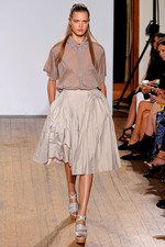 Nicole Farhi3 London Fashion Week SS13: Ladylike Elegance