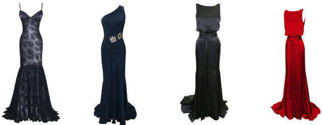 Dina Barel 3 Evening dresses in high demand from Dina Bar El