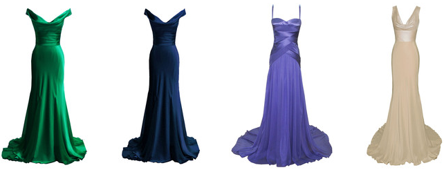 Dina Barel 4 Evening dresses in high demand from Dina Bar El